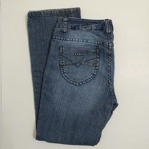 DKNY straight leg jeans size 10P